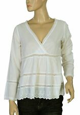 136006 NWT Odd Molly Embroidered Lace Long Sleeve Blouse Top X Small XS 0