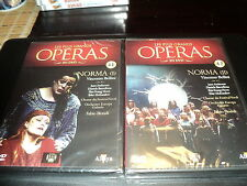 """LOT 2 DVD NEUF """"NORMA I & II (1 & 2)"""" collection operas N°41 et 42"""