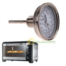 "1/2"" NPT Threaded Stainless Steel Thermometer for a Moonshine Still Condenser"