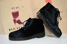 Fell Schnürstiefelette Boots M+S Gallus fashion TRUE VINTAGE Western Germany fur