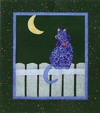 """Moon Cat Quilt Pattern by Melanie Formway Chang """"Kitty Capers"""""""