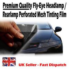32cm X 106 Cm Faros Coloreando Perforada Malla película como fly-eye ITV jurídico Tint