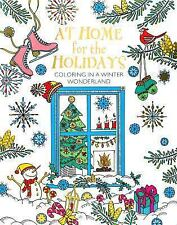At Home for the Holidays : Coloring in a Winter Wonderland by Parragon Books...