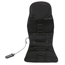 Massager Cushion Massage Chair Heated Back Seat For Car Home Relax Van Stress