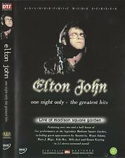 Elton John: One Night Only - The Greatest Hits (dts) DVD NEW