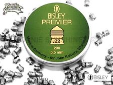 22 Bisley Premier Pointed Hunting Air Rifle Pellet