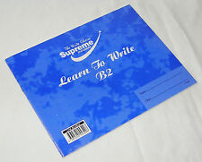 NEW SINGLE A5 LEARN TO WRITE EXERCISE BOOK HANDWRITING PRACTICE BLUE B2