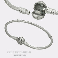 "Authentic Pandora New Sterling Silver Starry Sky Clasp 6.7"" Bracelet 590735CZ-17"