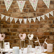 With Love Design Wedding Candy Buffet Bunting Garland Wall Decoration