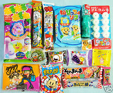 16 PCS SET / JAPANESE CANDY Dagashi candy set Kracie popin cookin Ramune