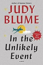 In the Unlikely Event a Hardcover  novel by Judy Blume FREE SHIPPING bloom