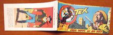 TEX striscia originale 1963 Araldo Bonelli serie Comanches 23 Nel covo di El Rey
