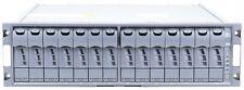 DS14-MK4 14LFF NetApp Disk Shelf 2x ESH4 Controller 2x PSU 14x 300GB 15K FC HDD