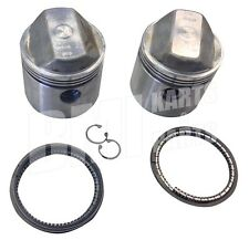 +.050 Piston Set Kit Rings Pins Clips Harley Davidson 1000cc Sportster Ironhead