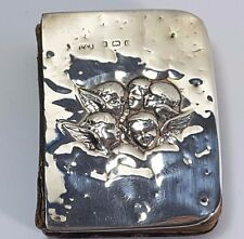 Antique Silver Reynolds Angels Cherubs Miniature Book Of Common Prayer 1904