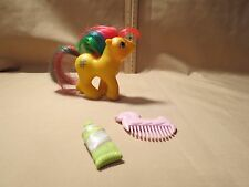 Vintage My Little Pony Baby Tic Tac Toe, w/ accessories