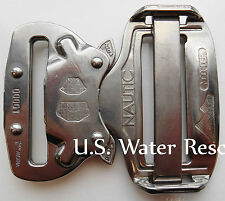 AustriAlpin S.S. Nautic Cobra Buckles (Pair) - Stainless Steel, Quick Release