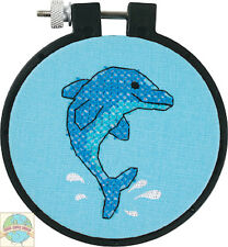 Cross Stitch 'Learn a Craft' Kit ~ Dolphin Delight KIDS & BEGINNERS #72533