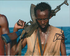 Barkhad ABDI SIGNED Autograph Photo AFTAL Somali American Actor Captain Phillips
