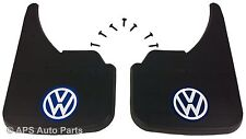 Universal Car Mudflaps Front Rear VW Volkswagen Blue Transporter T5 Guard Flap