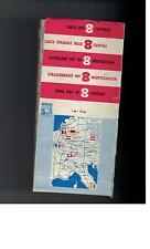 Strassenkarte mit 8 Hauptstaedten - Total