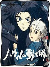 HOWL'S MOVING CASTLE WARM AND COZY THROW BLANKET STUDIO GHIBLI FREE SHIP
