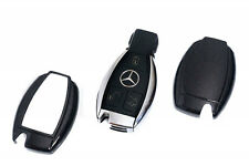 Mercedes Benz Black Remote Key Cover Case Skin Shell Cap Fob Protection Start -