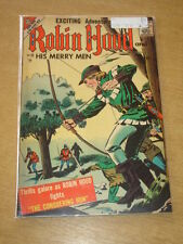 ROBIN HOOD AND HIS MERRY MEN #33 FN (6.0) CHARLTON COMICS AUGUST 1957