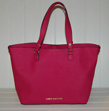Women's Handbag Purse Juicy Couture Sophia Tote Leather Signature Pink Color