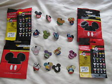 Disney Trading Pins Mickey Mouse Icon Mystery Pouch Complete Set of 16 Pins