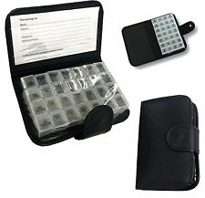 7 DAY PILL WALLET ORGANISER BOX STORAGE DISPENSER TRAVEL MEDICINE TABLET HOLDER