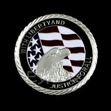 2001 9.11 United We Stand Attack Justice Forall Commemorative Coin Collection