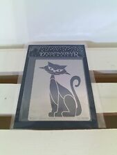 "Dreamweaver Stencils Metal Stencil ""Retro Cat"" 3-3/4"" X 2-3/4"""