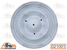 JANTE (RIM) 380 à trou central pour pneu tubeless gris AC140 Citroen 2CV -21001-