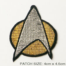 STAR TREK The Next Generation PATCH - Embroidered, Iron-On Crew Comm Badge - NEW