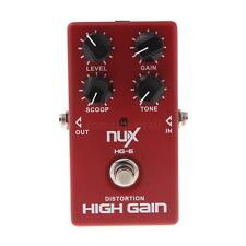 New Distortion High Gain Effect Pedal for Electric Guitar NUX HG-6 4AF9