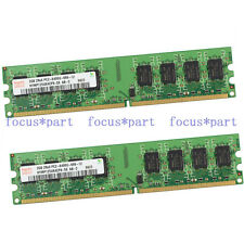 New Hynix 4GB 2X2GB PC2-6400 DDR2-800MHZ 240pin Dimm RAM Desktop Memory Ram