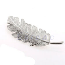 Fashion Vintage Retro Cute Gold Leaf Feather Hairpin Hair Clip Barrette Gift