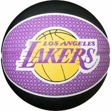 Spalding NBA LA Lakers Basketball Los Angeles Official Team Ball Outdoor Size 7