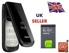 New Condition Nokia 2720 Black Flip Fold Big Button Big Screen Big Font  Phone
