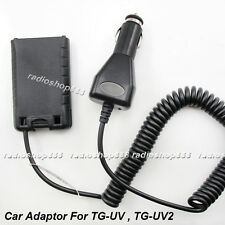 Car Battery Eliminator Adaptor for QUENSHENG TG-UV2, TG-UV Portable 2-way Radio