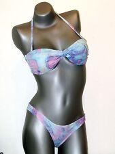 Asos Swim Bikini Set - 38-BLU CON ALLACCIATURA AL COLLO NUOVO