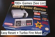 *MODDED* Nintendo NES Classic Edition Mini Console 700+ Games SUPER MOD BUNDLE