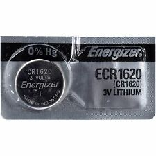 Energizer ECR1620 CR1620 DL1620 Lithium 3V Battery Brand New FREE SHIPPING USA