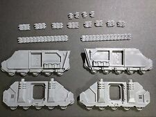 Warhammer 40k Space Marines Blood Angels Baal Predator Sides / Track Bits