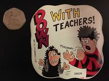 "Vinatge 1989 BEANO ""DENNIS THE MENACE"" RARE Comic book Decal Sticker DBS26"