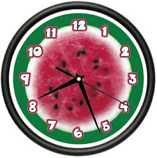 WATERMELON Wall Clock kitchen decor home fruit gift