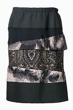 DAMENROCK Abendrock Rock 38 NEU Pencil Skirt Etui schwarz apart 860170 803