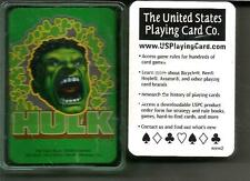 *Marvel*Incredible Hulk*Mini Playing Cards*New*Free shipping USA*