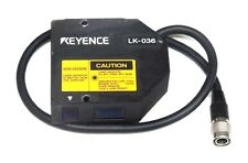 KEYENCE LK-036 LINEAR POSITION SENSOR HEAD 24VDC, 400MA, 10/50HZ, LK036